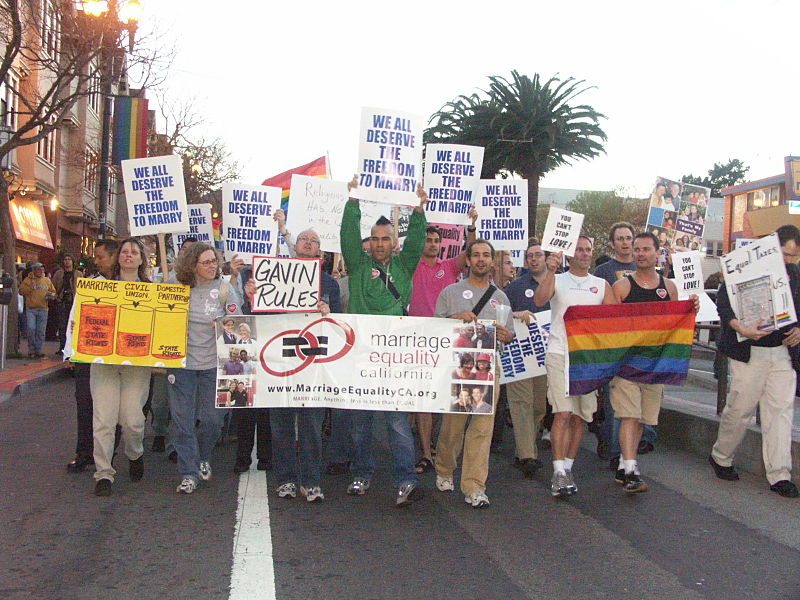 The lengthy struggle for gay rights in America